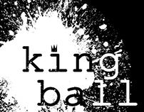King Ball Comics Logo Design
