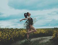 Ivied Ballet Dancer