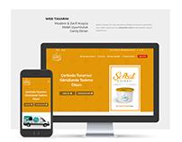 Web Site Arayüz Tasarımı (Şefkat Çorbası)
