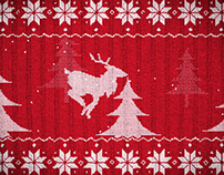 Knit Sweater Christmas Animation