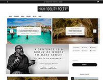 High Fidelity Poetry Web