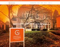 Website Notariskantoor Goossens