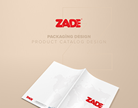 ZADE Packing and Product Catalog Design