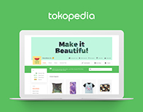 Tokopedia - Store Front Concept