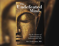The Undefeated Mind Book Cover Design