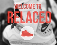 Relaced Buy Sell Sneakers Mobile App | Startup