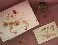 Wedding boxes and cards