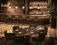 Visualisations-Mc@OUE Restaurant-Rockett studio