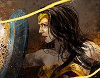 Wonder Woman- 2017 Movie Tribute