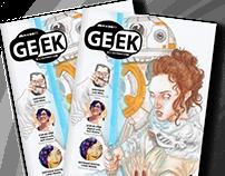 Revista Geek Illustration/ Geek Illustration Magazine