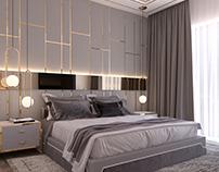 Modern style bedroom *Dubai project