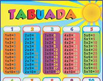 Banner - Tabuada Infantil