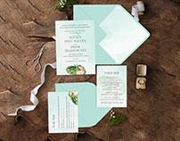 WEDDING INVITATION | ATISOFL