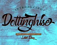 Free Dottinghise Script Font