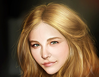 Chloe Moretz - Portrait