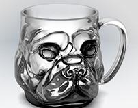 French Bull-Mug