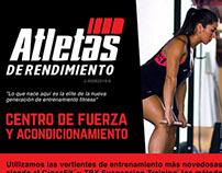 Crossfit Flyer / Atletas de Rendimiento