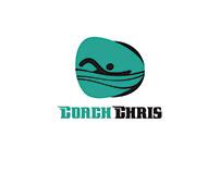 Swimming Coach Logo