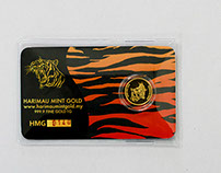 Harimau Mint Gold Packaging Design