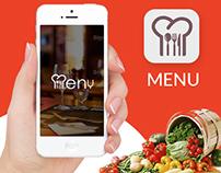 Menu - Restaurant reservation app