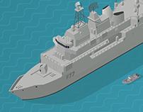 Isometric Info-graphic Illustrations // NZDF