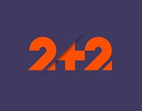 2+2 TV CHANNEL REBRANDING