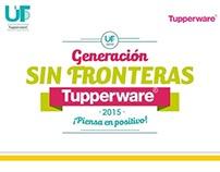 Generación Sin Fronteras, Tupperware.
