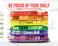COOP - Coming Out Day - Shopper marketing