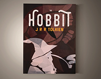 Hobbit book cover design