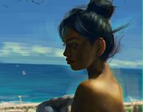 Cindy Wolf (digital portrait)