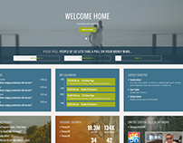 Intranet + Corporate Homebase w/ Live Video Feed