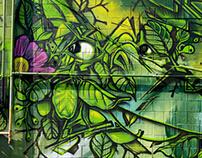 Planet Botanix Mural