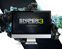 Sniper Ghost Warrior 3 Landing Page