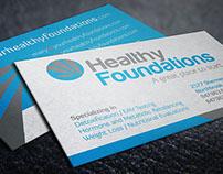 Branding –Healthy Foundations