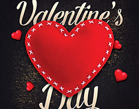 Valentines Day Flyer Invitation Template