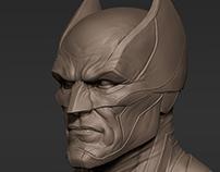 Batman head sketch