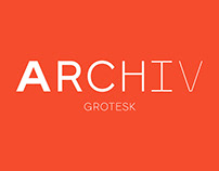Free Archive Grotesk Sans Serif Font