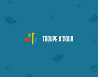 Troupeadour - Brand & Web Design