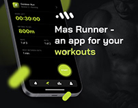 Mas Runner — an app for your workouts