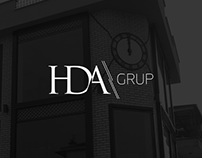 HDA Grup Website & Logo Design