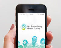 Do Something Great Today app