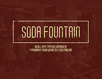 Soda Fountain (Free Typeface)