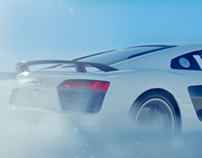 Audi R8 Snow Mode