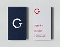 Gray Builders Identity