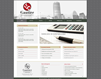 Sitio Web - Consultorías Gautier