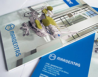 """Mardentas"" dental goods magazine"