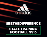 Adidas • Staff Training Football SS16