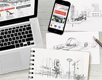 STROICA.RU | Web Design, Illustration