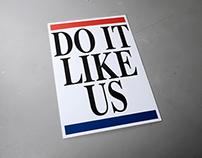 Do it like US