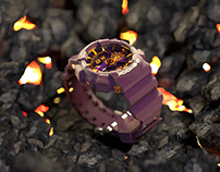 G-Shock | 3D Product Animation | Casio WR20BAR